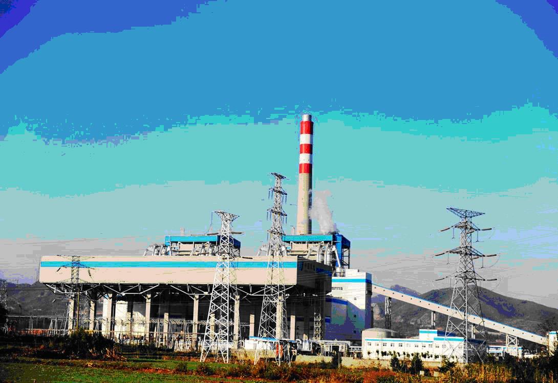 热电厂   ( 8月份,河北华电石家庄西郊(鹿华)热电项目正式开工