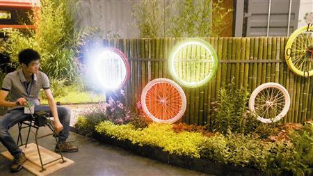 天津市低碳园林小品展在京开幕:创意园林秀